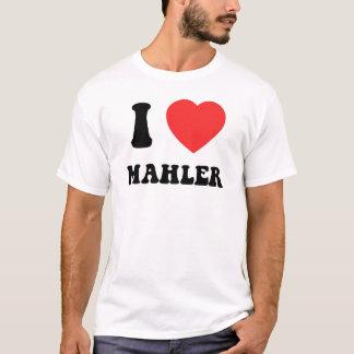 IハートMahler Tシャツ
