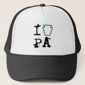 IハートPAの帽子 キャップ