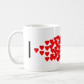 IハートPCR コーヒーマグカップ