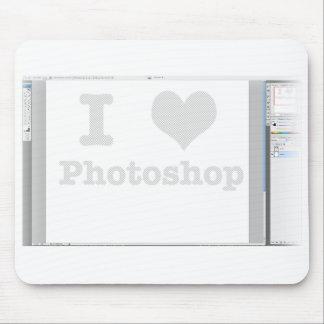 IハートPhotoshop マウスパッド