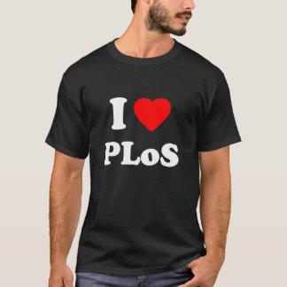 IハートPLoS Tシャツ