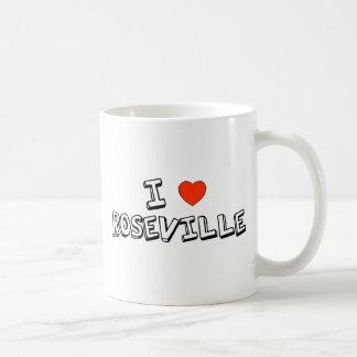 IハートRoseville コーヒーマグカップ