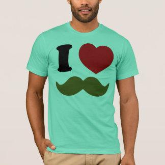 IハートStache Tシャツ