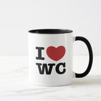 IハートWC マグカップ