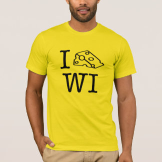 IハートWI Tシャツ