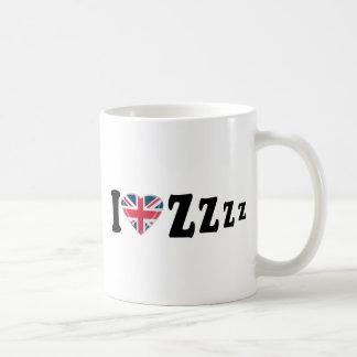 IハートZzzz コーヒーマグカップ