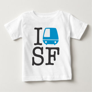 IバートSFのベビーのワイシャツ ベビーTシャツ