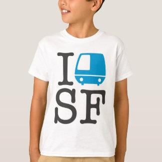 IバートSFはワイシャツをからかいます Tシャツ