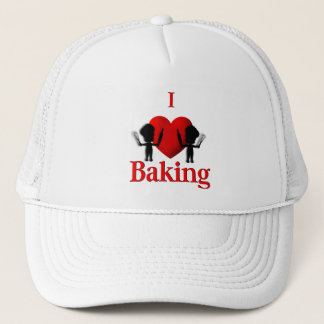 Iパン屋を焼くハート キャップ