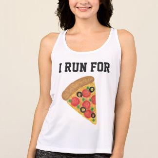 Iピザのために走られて タンクトップ