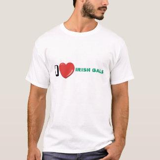IワイシャツアイルランドGALSの Tシャツ