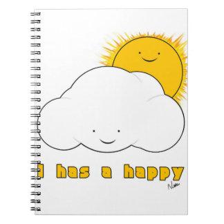I幸せなノートを持っています ノートブック