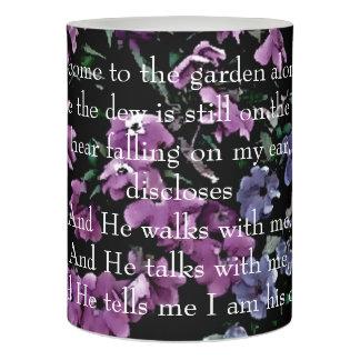 I庭の花柄だけに来られて LEDキャンドル
