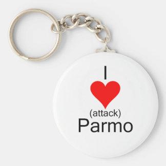 I心臓発作Parmo キーホルダー