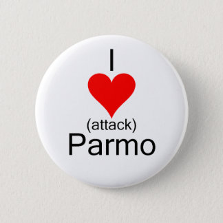 I心臓発作Parmo 5.7cm 丸型バッジ