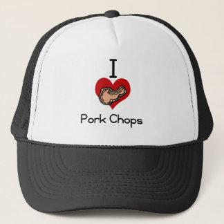 I愛ハートのポークチョップ キャップ