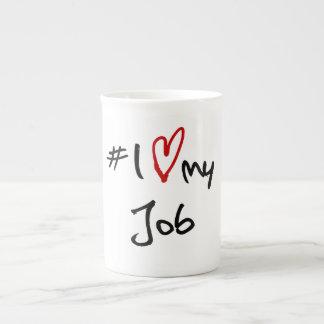 # I愛私の仕事 ボーンチャイナカップ