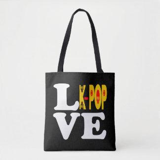 ♪♥I愛KPopのすばらしい全にプリントすてきなTote♥♫ トートバッグ