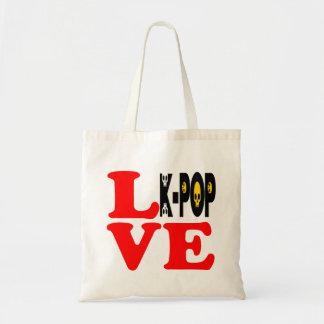 ♪♥I愛KPopのすばらしくクラシックな予算のトートBag♥♫ トートバッグ