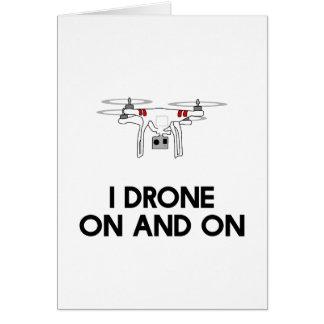 I無人機のどんどんとquadcopter カード