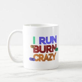 I熱狂するなタイポグラフィのマグを燃焼させるために走られる コーヒーマグカップ