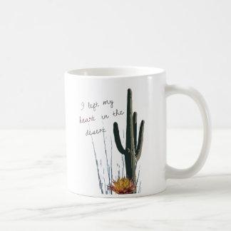 I砂漠|のマグの私のハートを残しました コーヒーマグカップ
