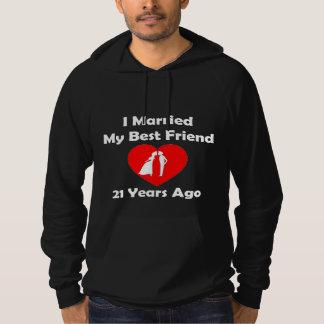 I私の親友21年前に結婚した パーカ