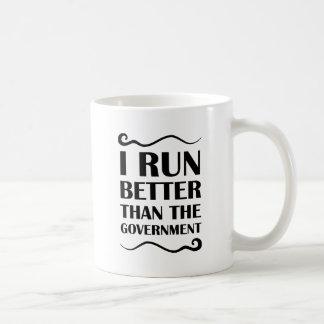 I走られる政府よりよく コーヒーマグカップ