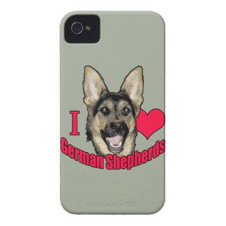 I雄鹿のジャーマン・シェパード Case-Mate iPhone 4 ケース