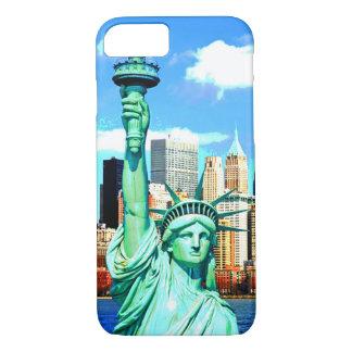 I電話6箱NewYorkの自由の女神 iPhone 8/7ケース
