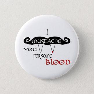 I髭血のための 缶バッジ