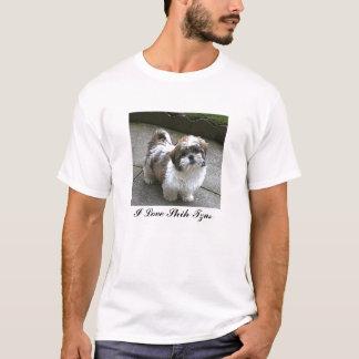 I ♥のシーズー(犬) Tzus Tシャツ