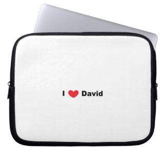 I ♥のデイヴィッドの電子工学のバッグ ラップトップスリーブ