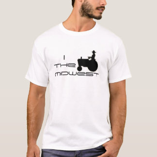 I (トラクター)米国中西部 Tシャツ