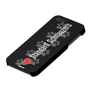I (ハートの)シュナウツァー iPhone 5 ケース