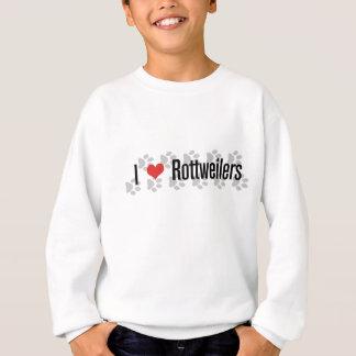 I (ハートの)ロットワイラー スウェットシャツ