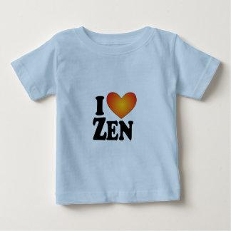 I (ハートの)禅-ライト数々のプロダクト ベビーTシャツ