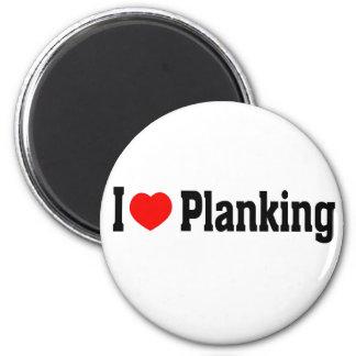 I (ハートの) Planking マグネット