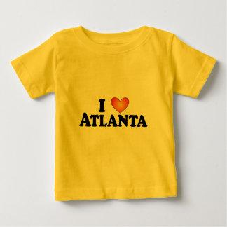 I (ハート)アトランタ-ライト数々のプロダクトTシャツ ベビーTシャツ