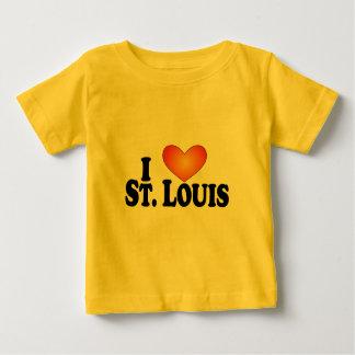 I (ハート)セントルイス-ライトプロダクト ベビーTシャツ