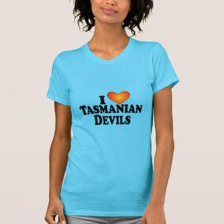 I (ハート)タスマニアンデビル-ライト数々のプロダクト Tシャツ