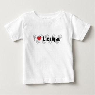 I (ハート)ラサApsos ベビーTシャツ
