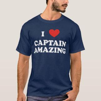 I (ハート)大尉Amazing Dark Tshirt Tシャツ