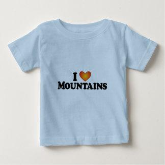I (ハート)山-ライトプロダクト ベビーTシャツ