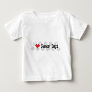 I (ハート) Canaan犬 ベビーTシャツ