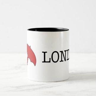 I ☂ロンドン(マグ) ツートーンマグカップ