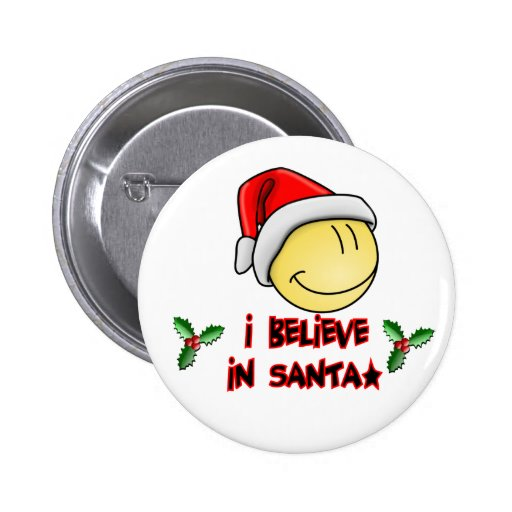 I|信じて下さい|サンタ|クリスマス|ボタン 缶バッジピンバック