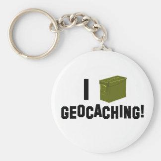 I (弾薬はできます) Geocaching! キーホルダー