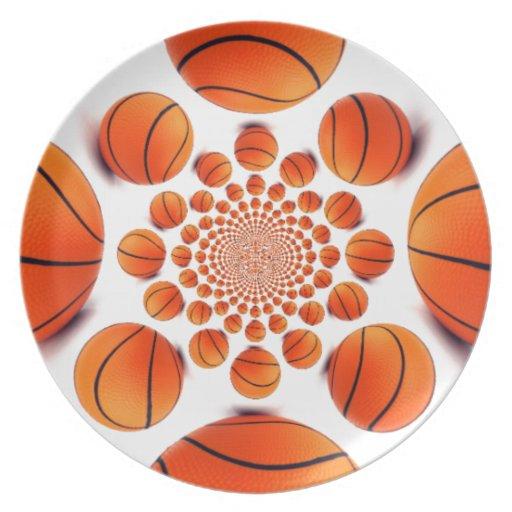 I|愛|バスケットボール パーティー皿