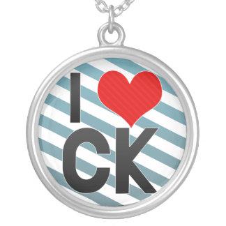 I|愛|CK ネックレス